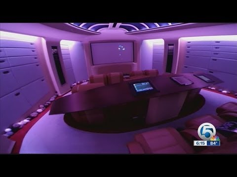Star Trek inspired mansion for sale in Boca Raton