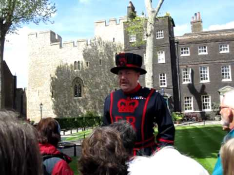 Tower of London Beefeater's Tour Guide