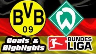 Borussia Dortmund vs Werder Bremen - 2018-19 Bundesliga Highlights #15