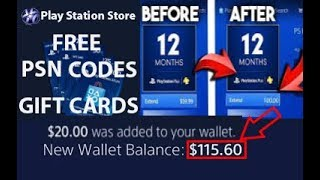 [NEW ] Gets unlimited PSN FREE CODES- How to get free PlayStation *Must Watch* free psn codes live