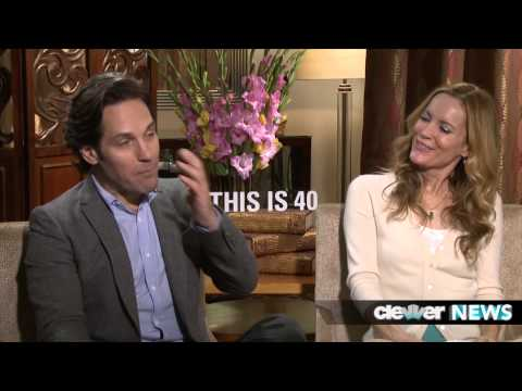 Paul Rudd and Leslie Mann Funny Interview!