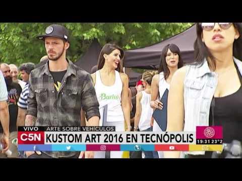C5N - Remix De Noticias: : Kustom Art 2016 en Tecnopolis