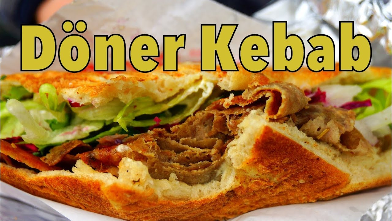 Döner Kebab Tasty Turkish Inspired German Street Food In