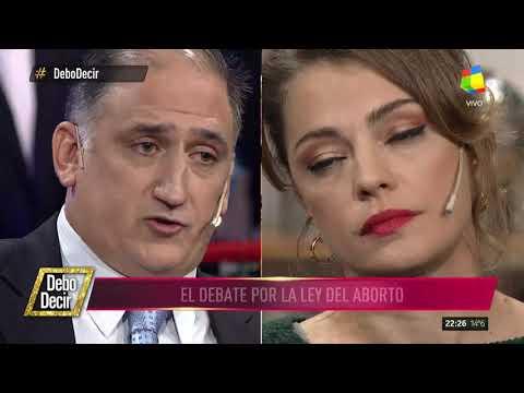Fuerte debate por la despenalización del aborto en Debo decir