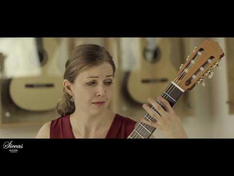 Ivana Solcaniova plays Capricho Arabe by Francisco Tárrega on a Armin Hanika 50 KF N