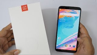 OnePlus 5T Smartphone Unboxing & Overview with Camera Samples