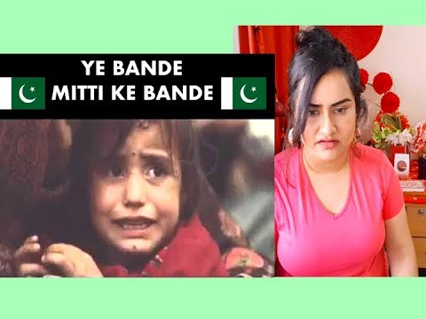 Indian Girl Reacts On YEH BANDAY MITTI KAY BANDAY   Reaction  