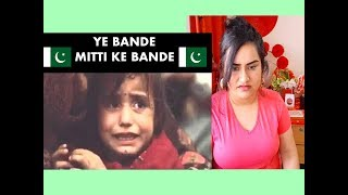Indian Girl Reacts On YEH BANDAY MITTI KAY BANDAY | Reaction |
