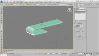 Editable Spline ile TV Ünitesi Modelleme - 2 - 3Ds Max