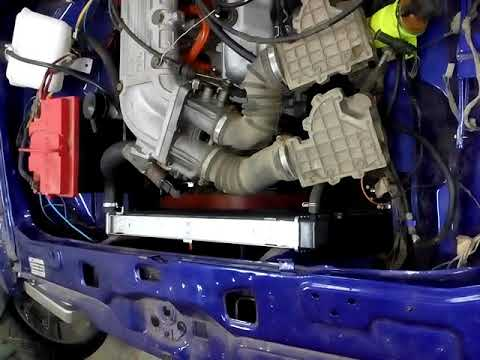 Ford Taunus,пуск двигателя 2.9 EFI ,V6