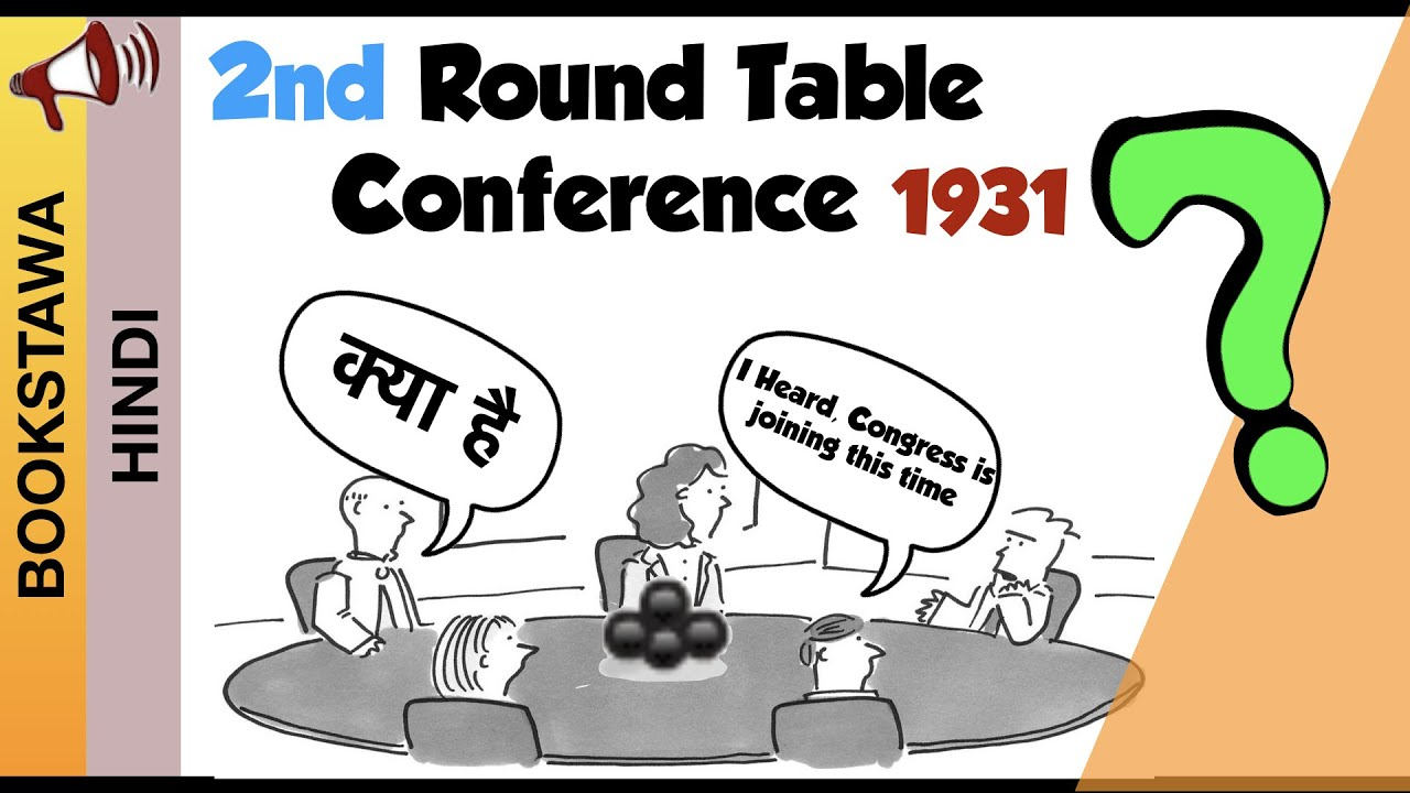 2nd Round Table Conference In Hindi, What Happened In Second Round Table Conference