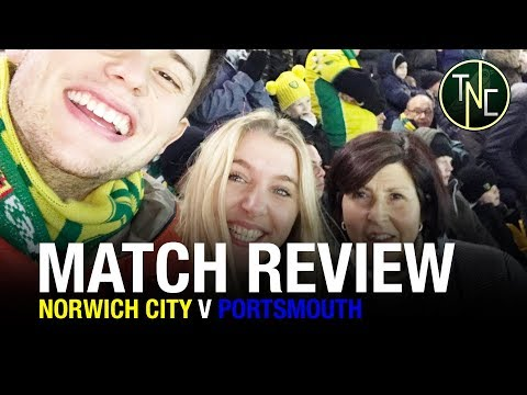 NORWICH CITY 0-1 PORTSMOUTH - IS LOSING A BAD THING? MATCH REVIEW