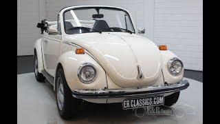 Volkswagen Beetle Cabriolet 1973 -VIDEO- www.ERclassics.com