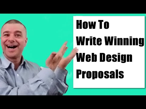Writing Proposals For Web Design Projects Video Tutorial | Web Design Business Success Series