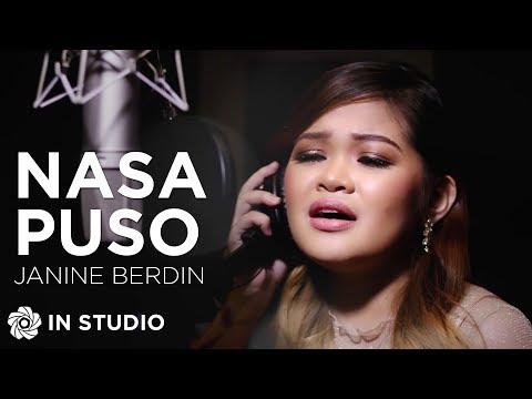 """Janine Berdin - Nasa Puso  From """"Kadenang Ginto"""" In Studio"""