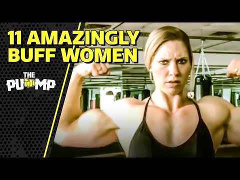 Female Bodybuilders, Lifters, and Athletes Prove Girls Can Have Muscles Too!