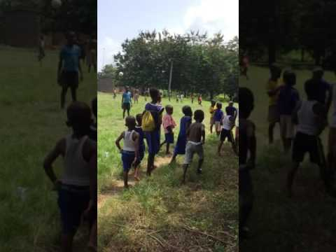 Ghana: Academy student-athletes give back to village school
