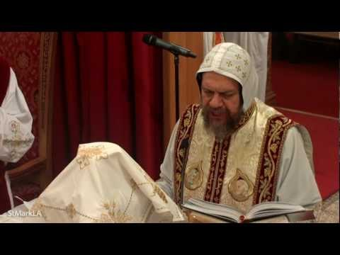 Fourth Year Commemoration of Archdeacon Youssef (Liturgy) - HG Bishop Serapion