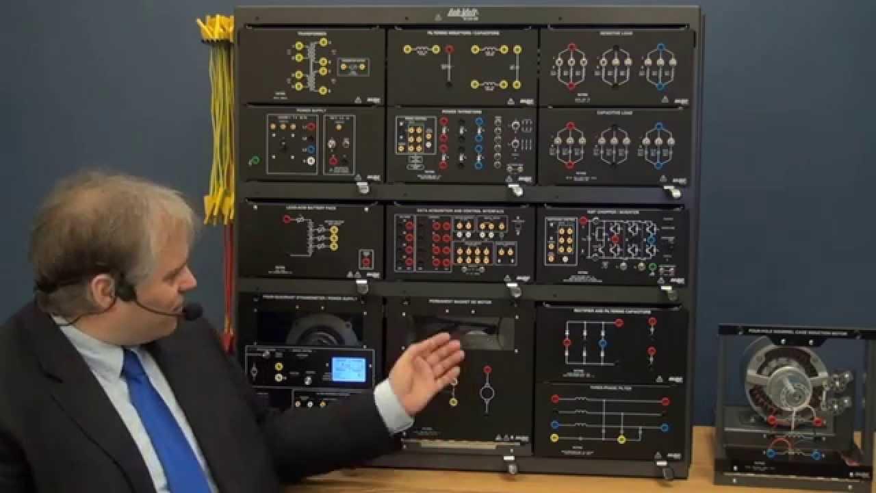 Power Electronics Training System Model Labvolt Series