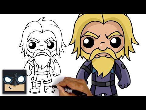 How To Draw Scuba Jonesy | Fortnite