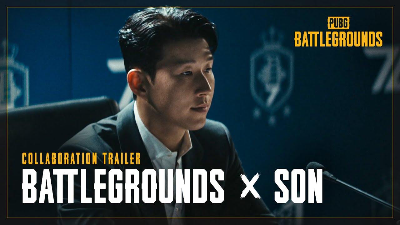 BATTLEGROUNDS x S⚽N Collaboration Trailer | PUBG