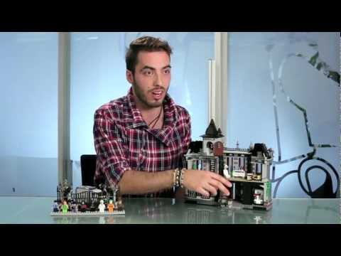 Arkham Asylum - LEGO DC Comics - Designer Video 10937