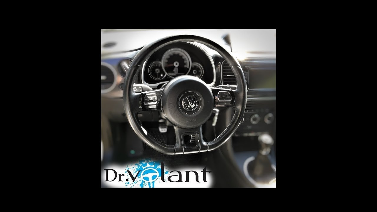 How to disassemble the steering wheel - AIRBAG remove  Volkswagen Beetle 2015 - Dr.Volant