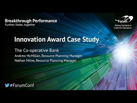 Innovation Case Studies: Co-operative Bank