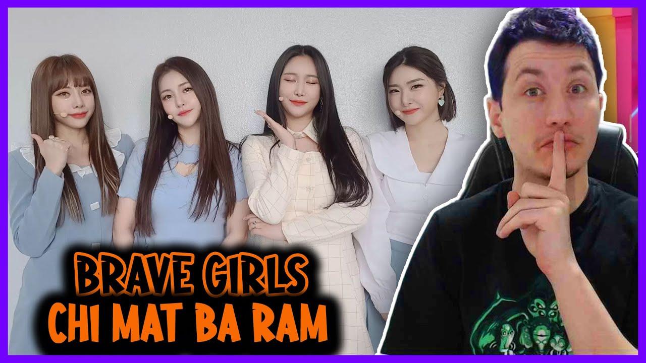 REAGINDO A (Brave Girls) - 치맛바람 (Chi Mat Ba Ram) MV