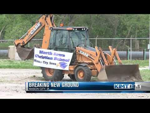 North Iowa Christian School breaks ground on addition