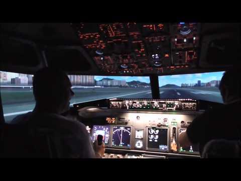 737 Flight Simulator Experience. watch in HD .