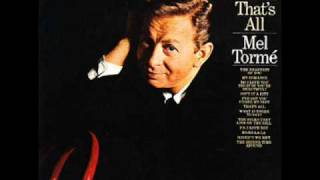 Mel Torme: The Nearness Of You (Carmichael/Washington, 1938)