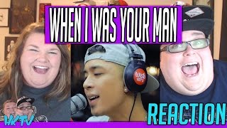 "Kris Lawrence covers ""When I Was Your Man"" (Bruno Mars) LIVE on Wish 107.5 Bus REACTION!! 🔥"
