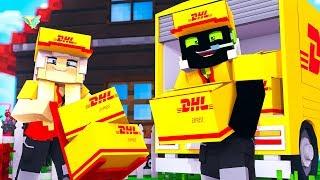 ALS DHL-PAKETLIEFERANT ARBEITEN!? - Minecraft [Deutsch/HD]