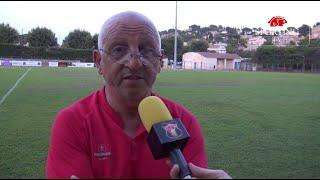 FC CARNOUX - SPORTING CLUB TOULON - Match amical : interview Luigi Alfano (01/08/2020)