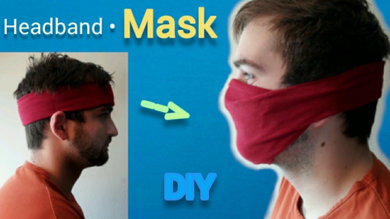 microscopio George Bernard Teoría de la relatividad  6 easy, no-sew ways to make a face mask with household items | Real Homes