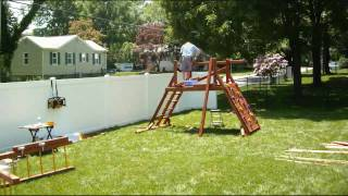 Swing Set Installer All American Double Decker