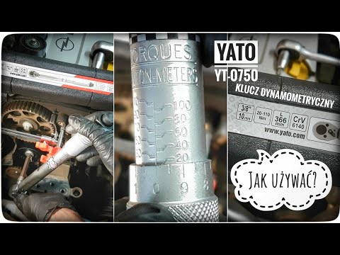 Jak Używać Klucz Dynamometryczny - YATO YT-0750 Torque Wrench