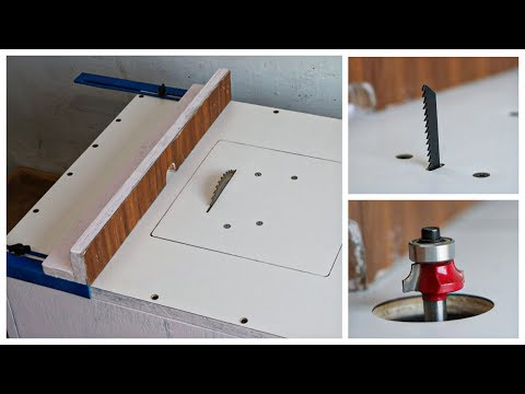 3 In 1 || Table Saw, Mini Router Table And Jigsaw Table || DIY Multifunction table