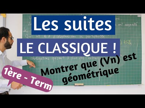 Suites: exercice type BAC ES