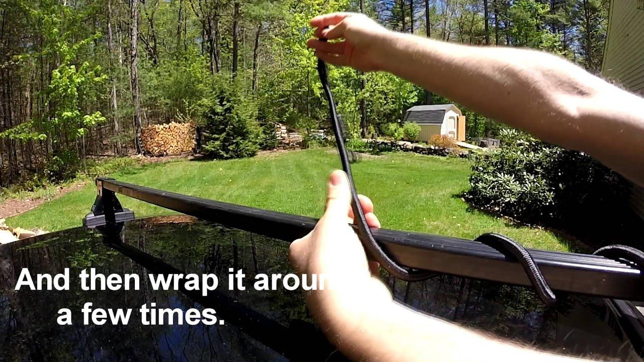 Diy Roof Rack Fairing Wind Deflector Youtube