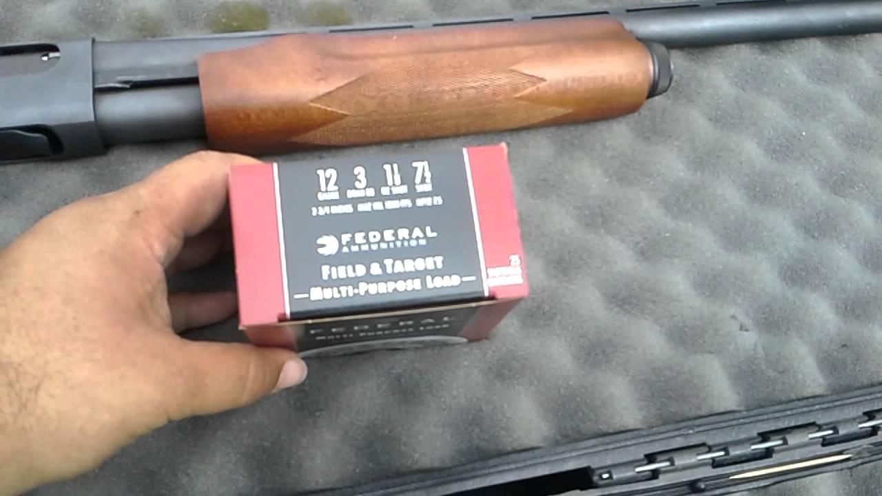 HUNTING SHOTGUNS SuperMag Battle Remington NitroMag vs
