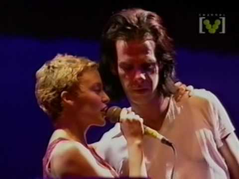 Nick Cave & Kylie Minogue - Where The Wild Roses Grow   Big Day Out 1996