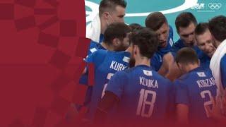 Россия Тунис Волейбол муж Групповой турнир Олимпиада 2020 Обзор матча