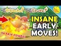 How to Get INSANE EARLY GAME MOVES For PIKACHU + EEVEE! Let's Go P/E (Marvelous Moves Location!)