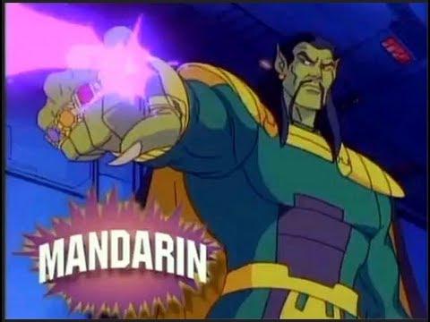 Ironman Vs Mandarin Comic