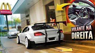 CAUSANDO NO DRIVE-THRU COM CARRO DE DRIFT  «Bruno Bär»
