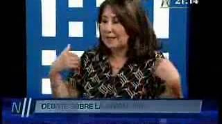 Debate sobre la Unión Civil entre las congresistas Martha Chávez y Veronika Mendoza