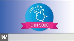 Die neue DIN 5008 ist da!
