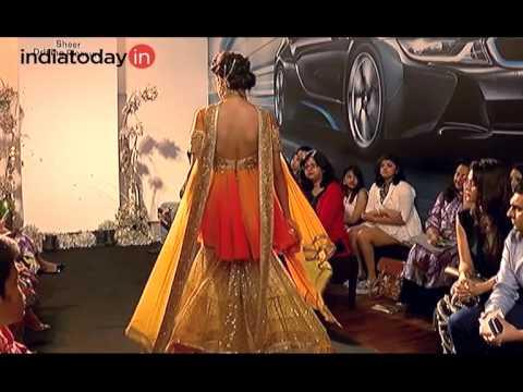 India Bridal Fashion Week-Sulakshana Monga collection